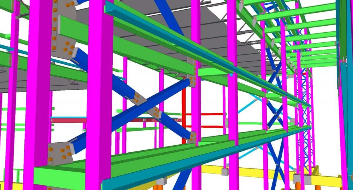At Steel Construction Detailing Silicon Valley Provides Endless Structural Engineering S Modern Architecture Building Structural Engineering Steel Fabrication