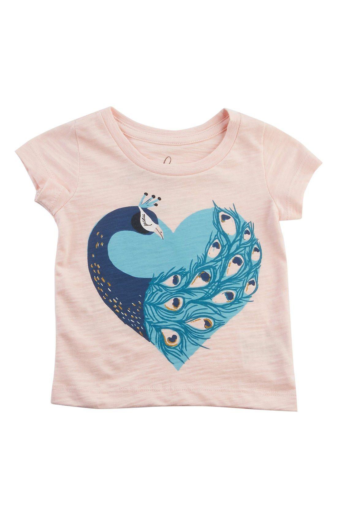 1be44b7c6 Peek  Peacock  Graphic Tee (Baby Girls)