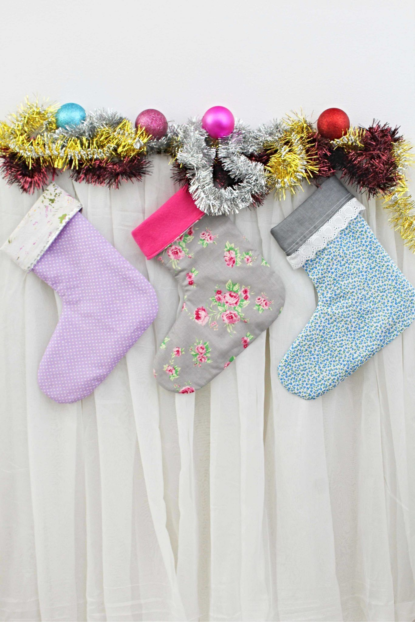 christmas stocking template | Handmade | Pinterest