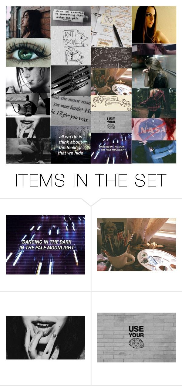 """""""Low on self esteem, so I run on gasoline."""" by gryffandclaw ❤ liked on Polyvore featuring art"""