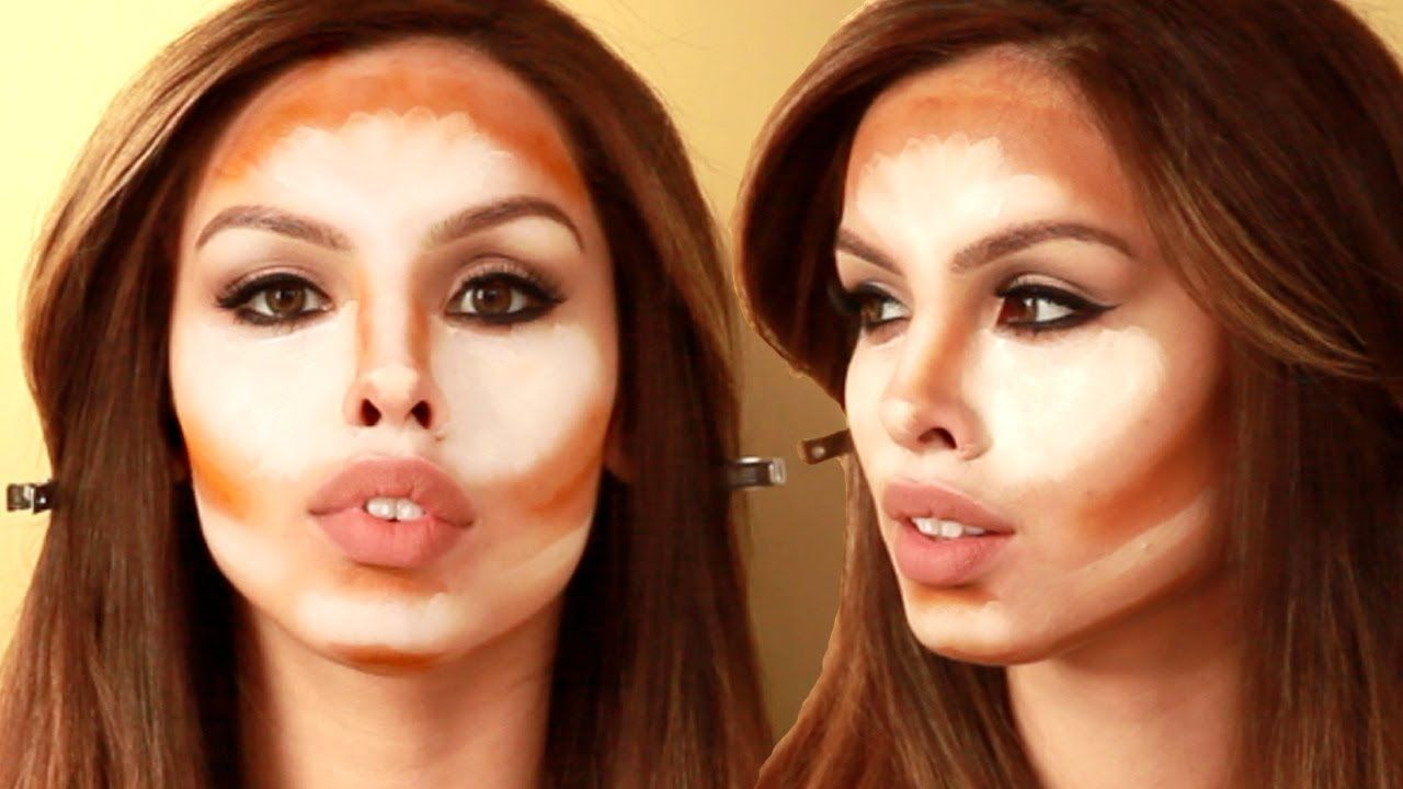 How to kim kardashian contour and highlight tutorial how to kim kardashian contour and highlight tutorial lets learn makeup baditri Images