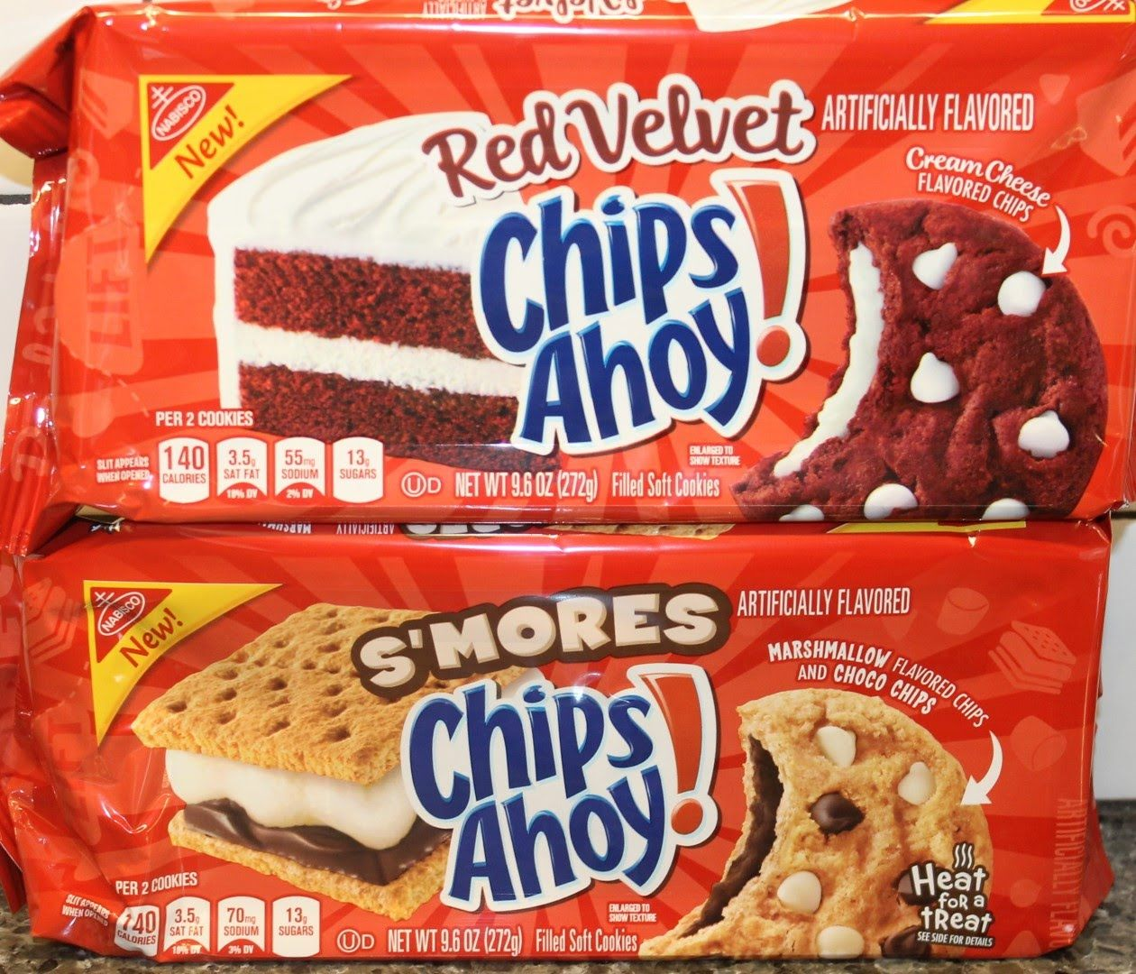 Chips Ahoy: Red Velvet & S'mores Cookie Review