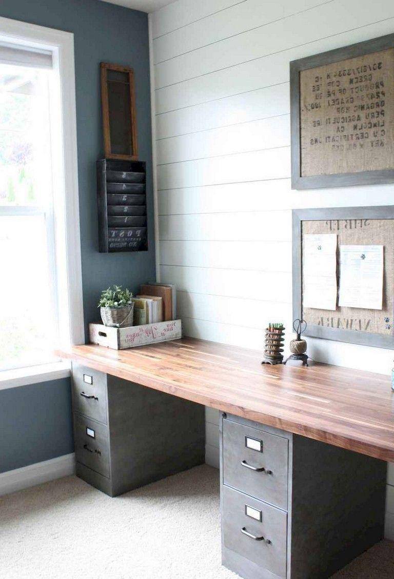 35 Incredible Diy Farmhouse Desk Decor Ideas On A Budget Desk