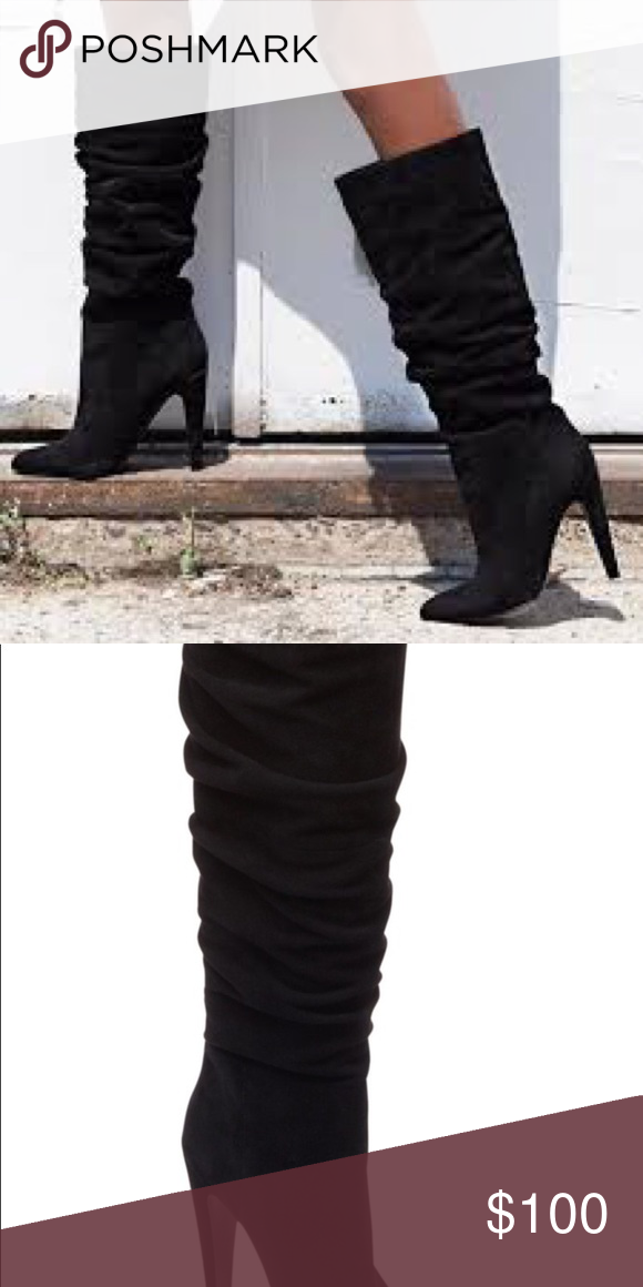 ddb123bce07 Steve Madden Carrie Boot NWT Beautiful black suede boots Steve ...