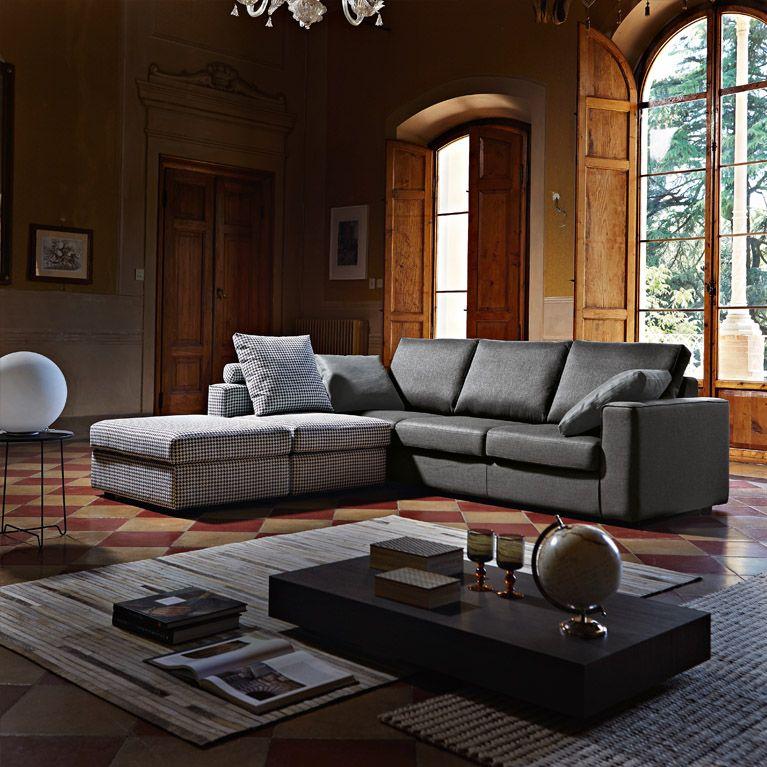 divano meldola poltronesof el sal n home decor couch. Black Bedroom Furniture Sets. Home Design Ideas