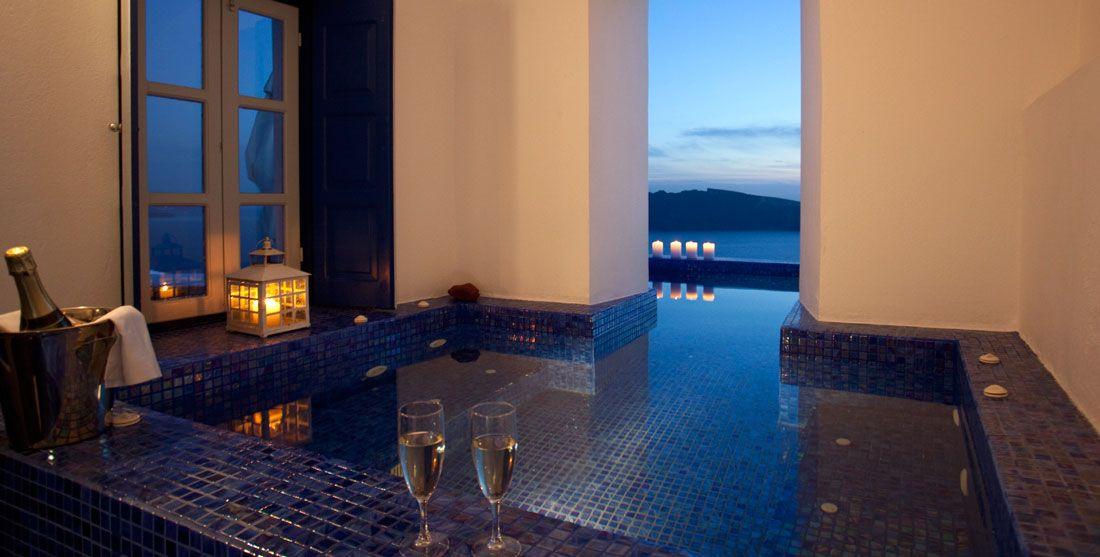 Santorini Luxury Hotel Ikies Traditional Houses Oia Ia Cycladic Islands