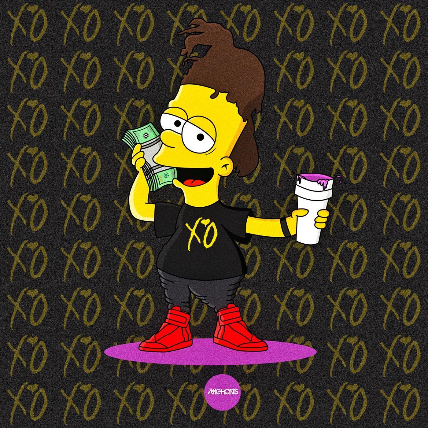The Simpsons x Rap Icons Simpsonized by Machonis