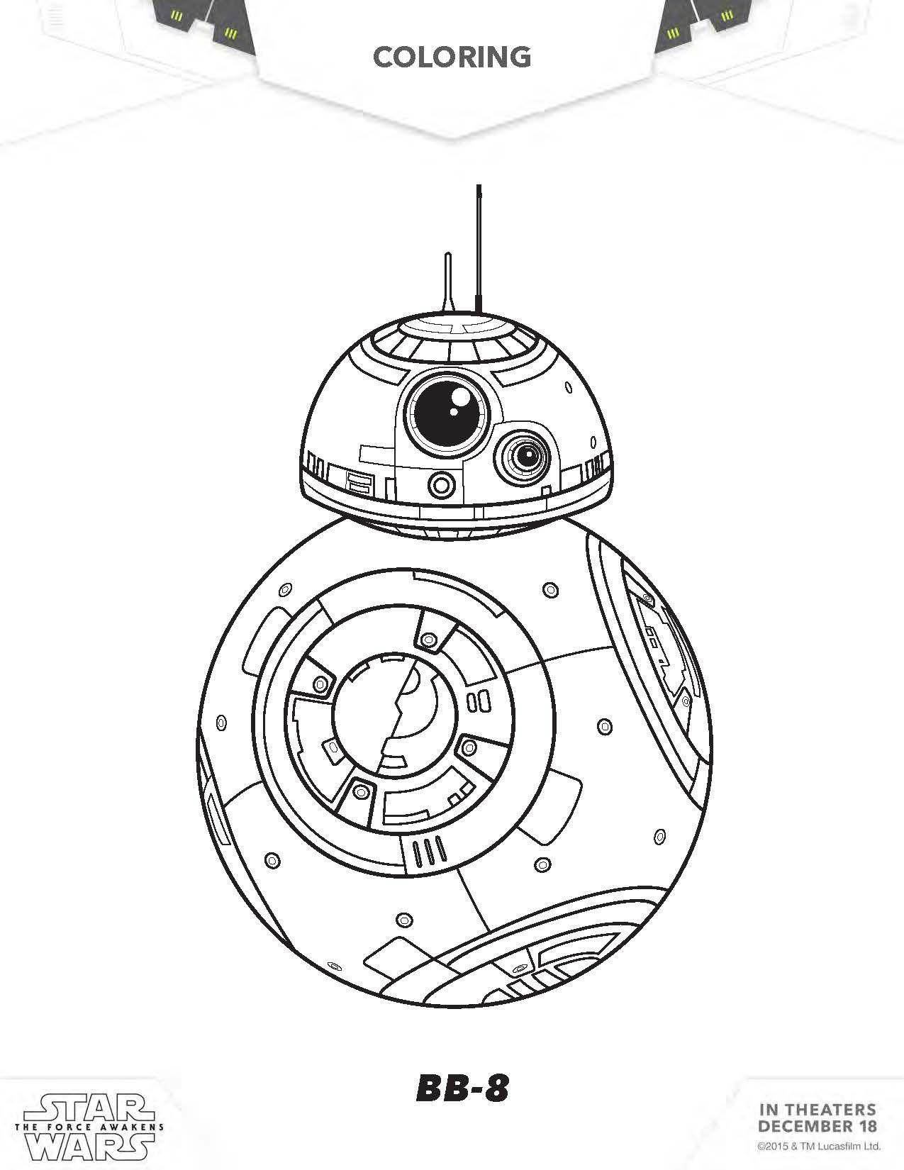 star-wars-coloring-sheet-bb8.jpg 1,275×1,650 pixels | die cut ...