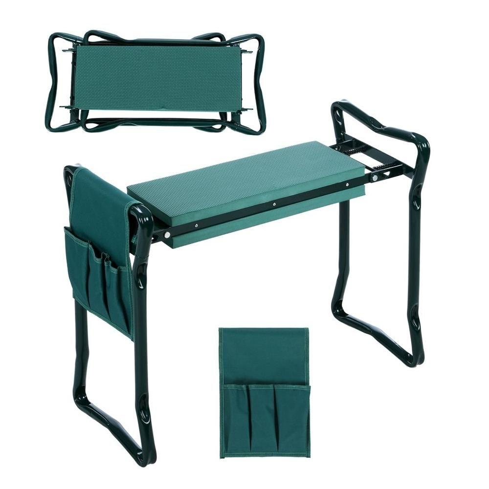 Garden Kneeler Tool Handle Bags Kneeling Chair Stool Gardening Knee