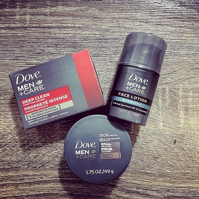 dovemencare 's scent and product range is going strong
