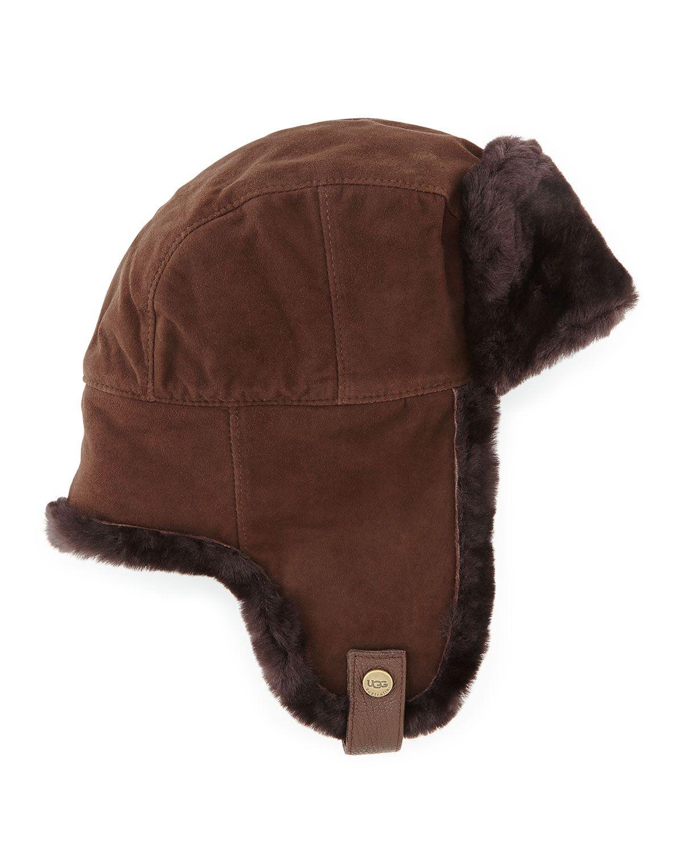 c5ebf41f7b01c Shearling Trapper Hat