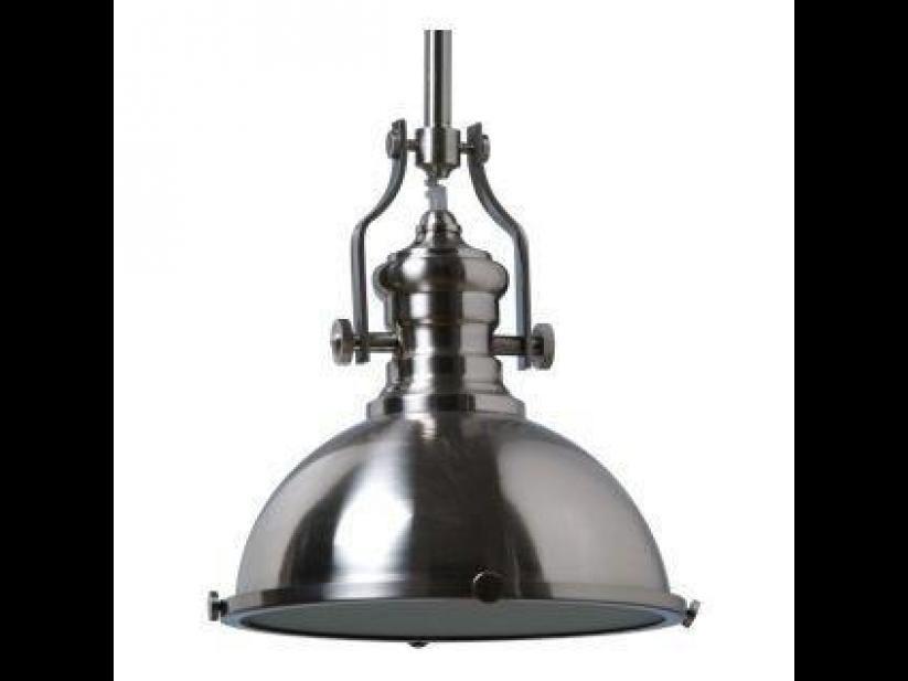 Schots parisian industrial metal pendant ceiling lights brushed nickel in home garden lighting fans pendant lighting