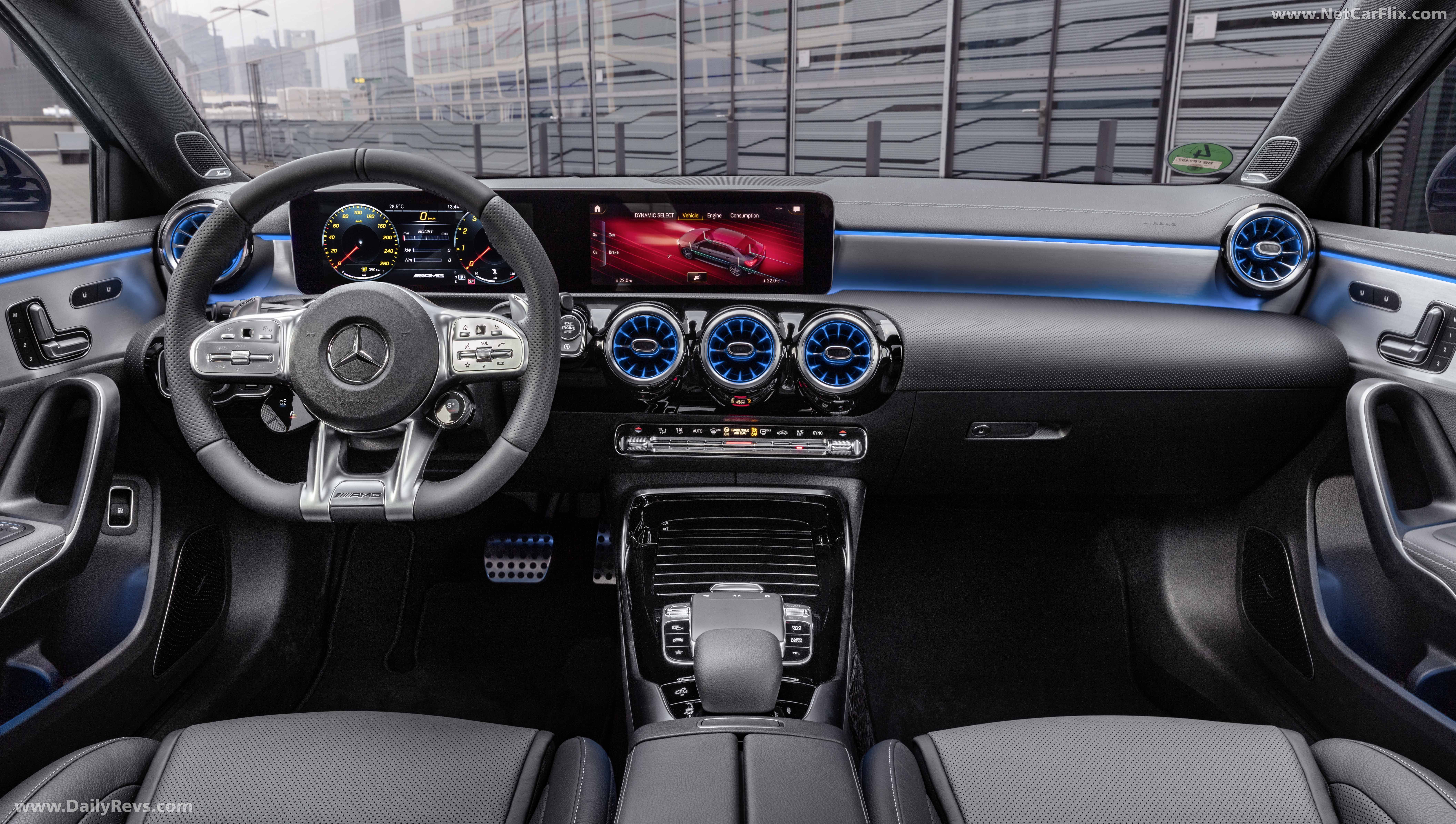 2020 Mercedes Benz A35 Amg 4matic Sedan Hd Pictures Videos