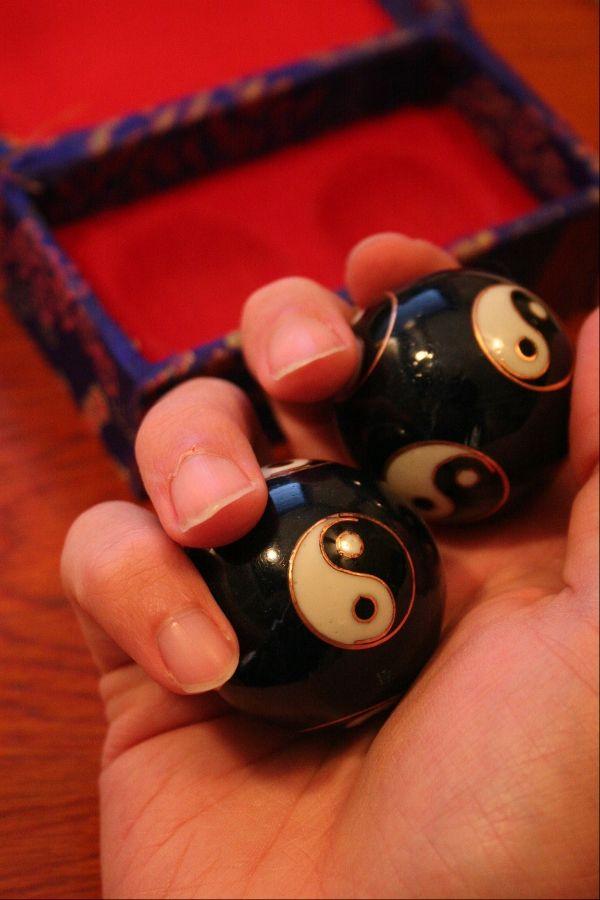 Asian meditation balls