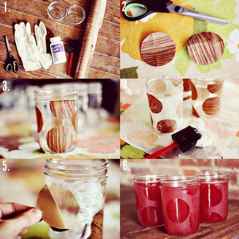 DIY Drinking Glass etching- love it!