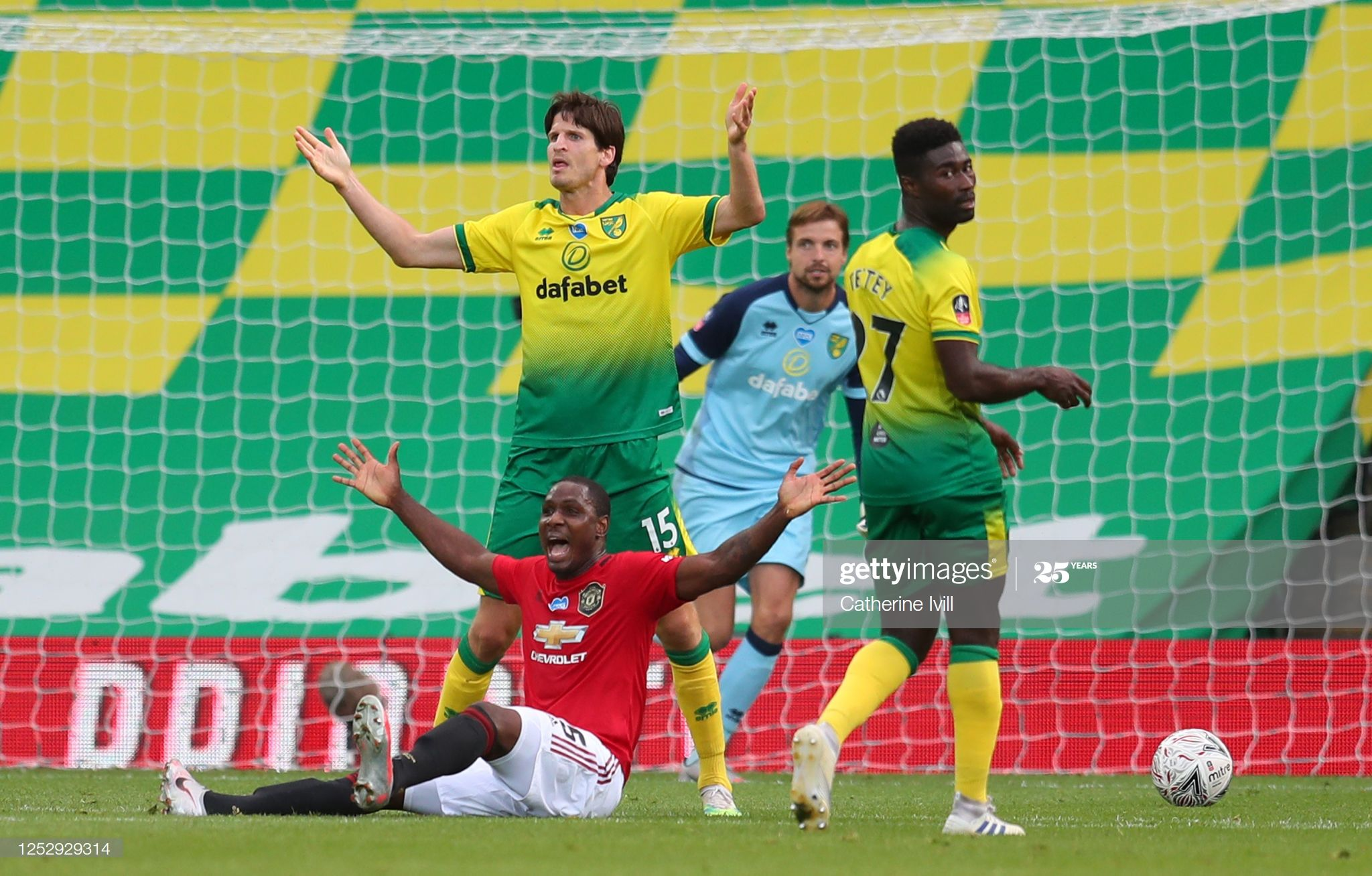 Odion Ighalo Of Manchester United Appeals To The Referee After A Foul In 2020 Manchester United Manchester The Unit