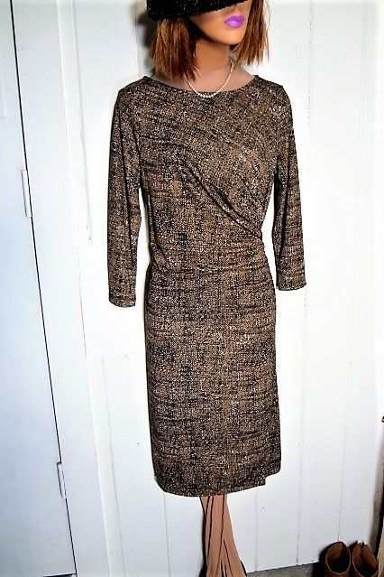 0496afbdcc7 Talbots New With Tag 3 4 Sleeve Side Ruch Stretchy Sz Medium Dress. Free  shipping and guaranteed authenticity on Talbots New With Tag 3 4 Sleeve  Side Ruch ...
