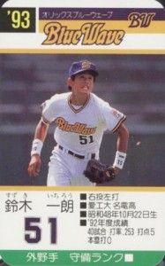 f9bf6c16d30 1993 Takara BlueWave Ichiro Suzuki  51 front