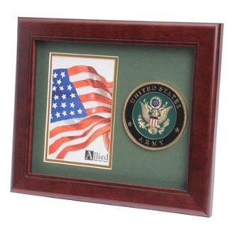 U.S. Army Medallion Portrait Picture Frame