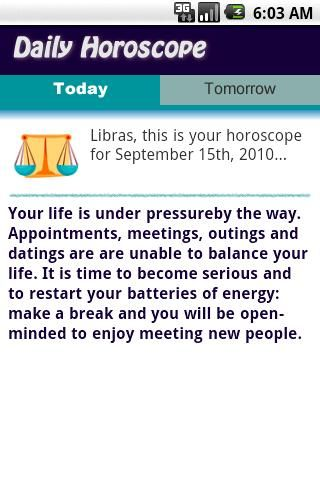 the daily libra horoscope