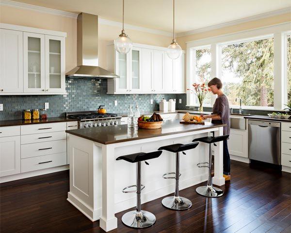 10 Inspiring Dark Floor Ideas For The Kitchen Wood Floor Kitchen Trendy Kitchen Backsplash Kitchen Remodel