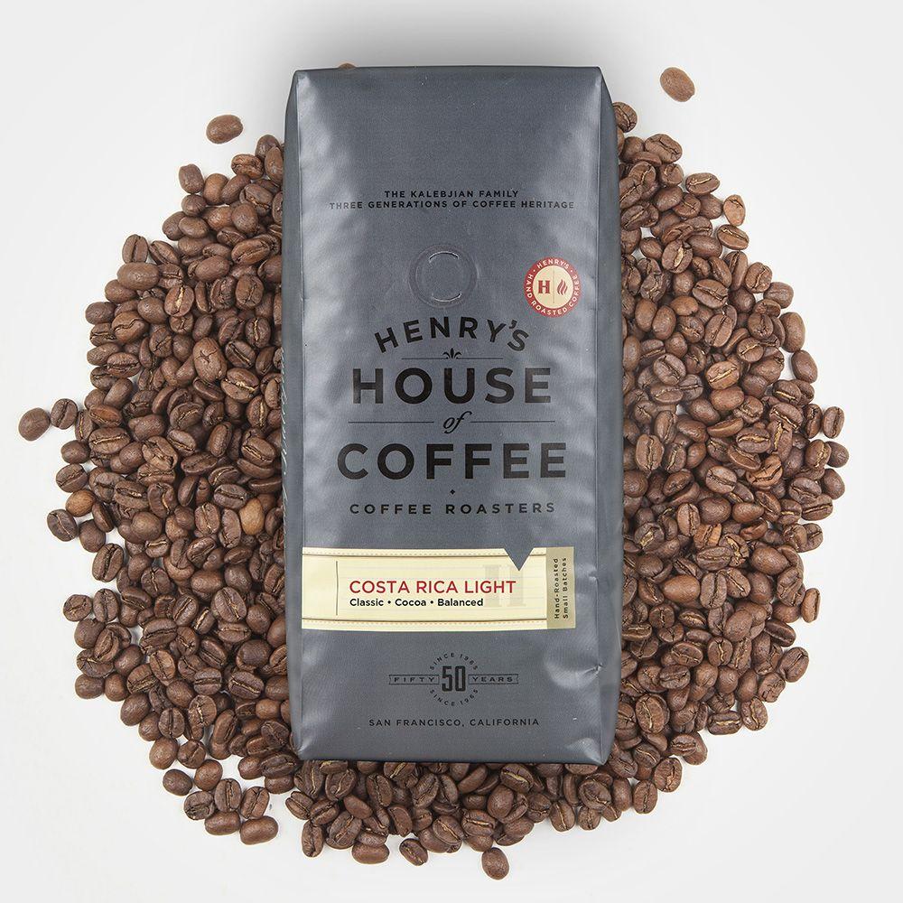 Costa Rica Light Coffee gifts, Light roast coffee