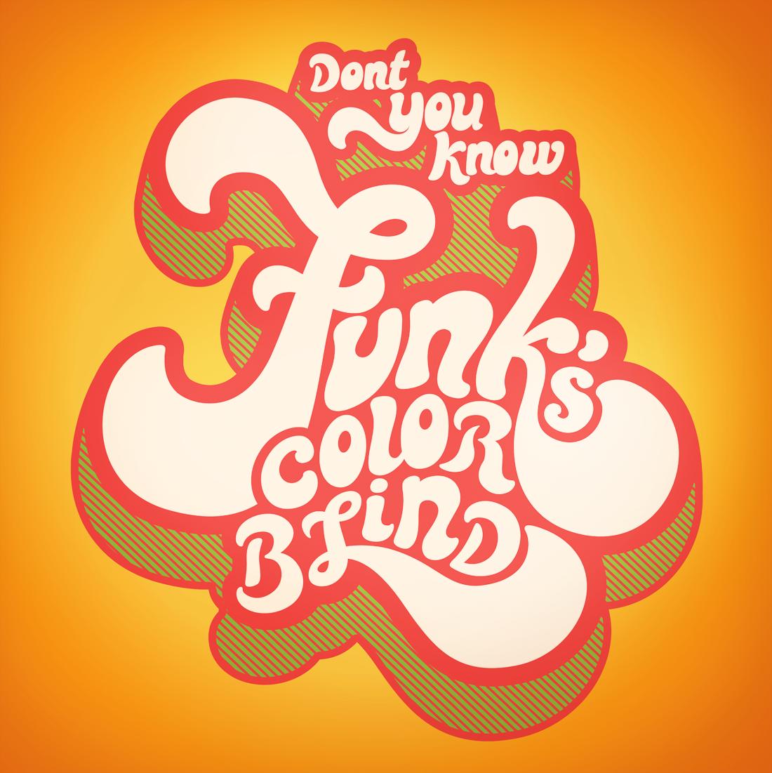 70s poster design - Funky Poster Vinyl Jaine Kopala Graphic Design