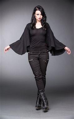 Queen Of Darkness Gothic Batwing Bolero   Plus size goth