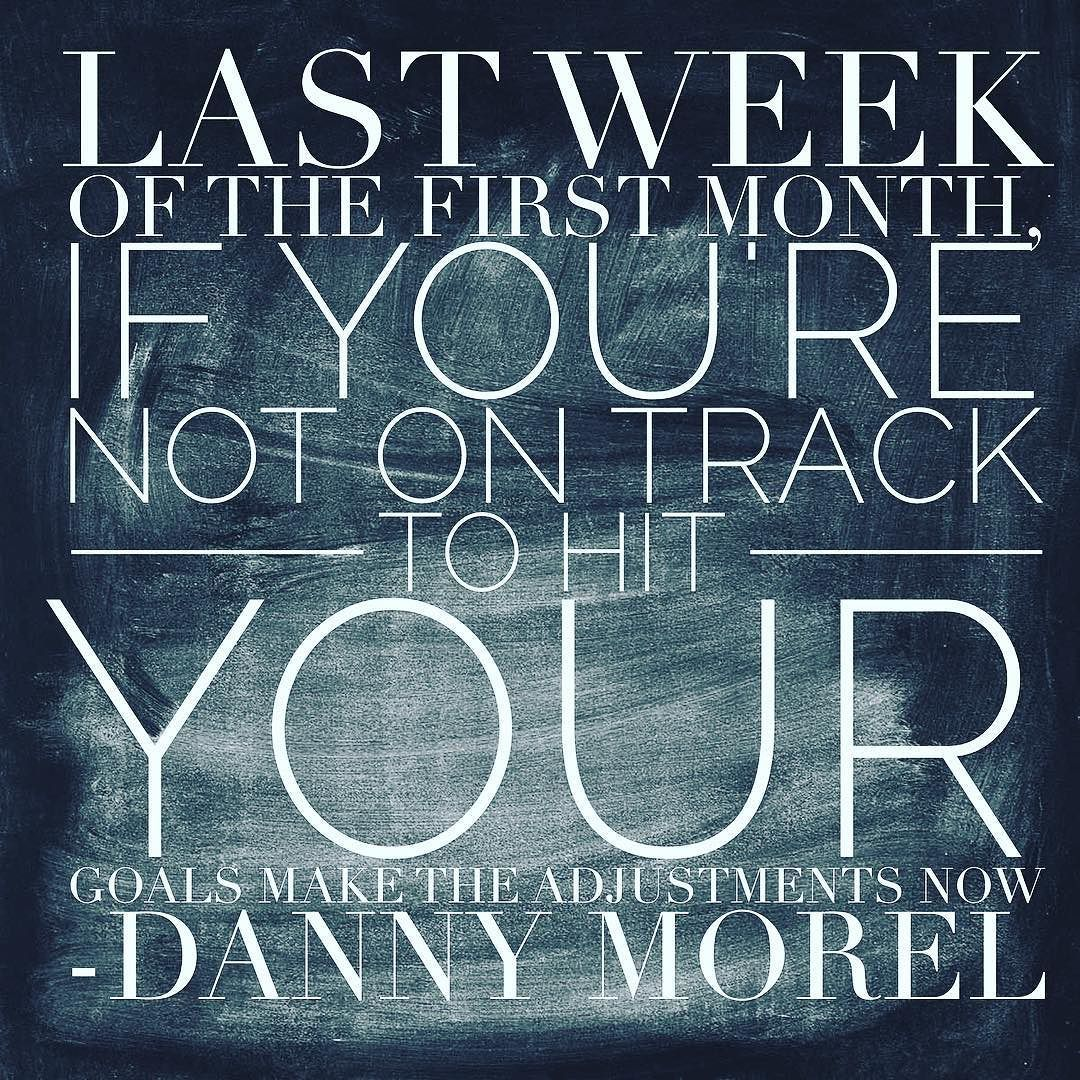 "Danny Morel On Instagram: ""Last Week Of The First Month Of"