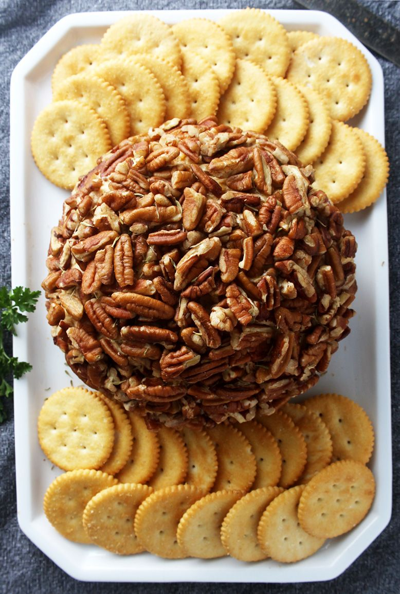 Enjoy An Easy Holiday With This Smoky Vegan Cheese Ball Recipe Vegan Christmas Recipes Vegan Cheese Recipes Vegan Cheese