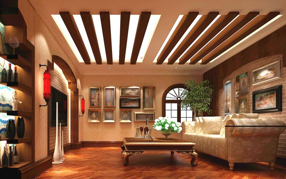 Home Architec Ideas Wooden False Ceiling Design For Drawing Room