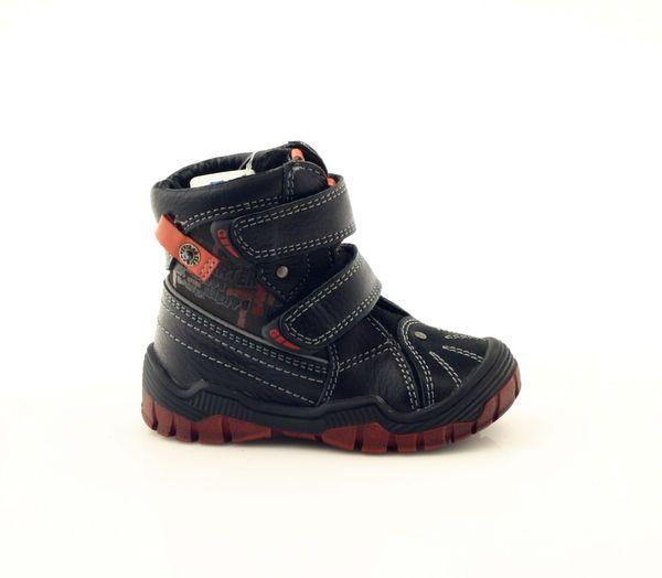Trzewiki Chlopiece Bartek 61206 Czarne Hiking Boots Boots Shoes