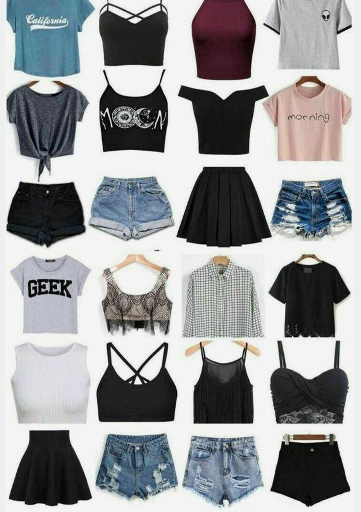 Omg ich will das - Sommer Mode Ideen #emodresses