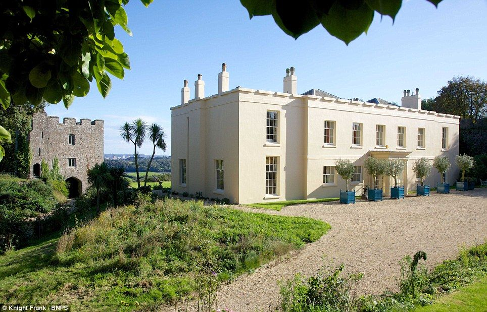 Cornish house that 39 s owned by prince charles for sale for for Castle style homes for sale