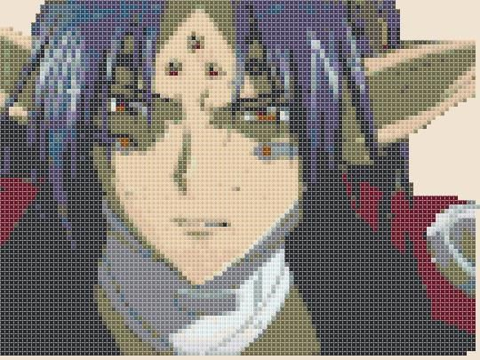 Chrono Crusade  Chrono  Demon version simple di CrossStitchFantasy, $3.00