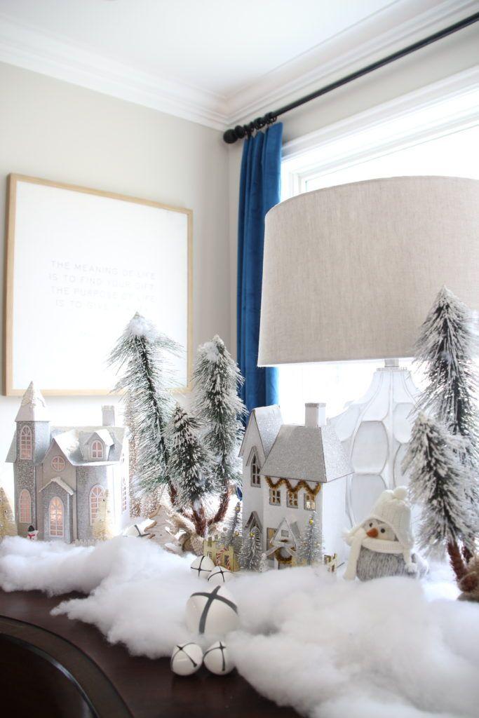 Create a Winter Wonderland light up village