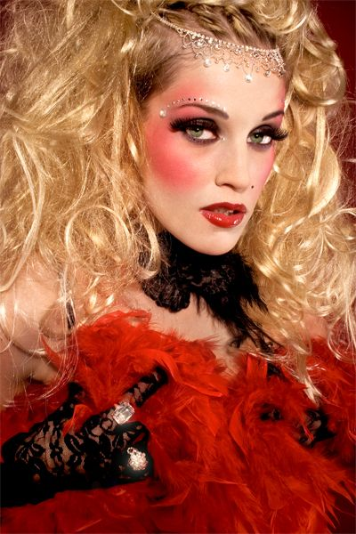 Moulin Rouge Editorial Moulin Rouge Kostume Burlesque Kostum Zirkus Make Up