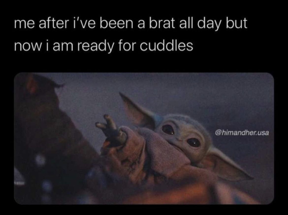 45 Of The Funniest Baby Yoda Memes Page 29 Of 45 Parentology Funny Babies Cuddle Pictures Cute Memes