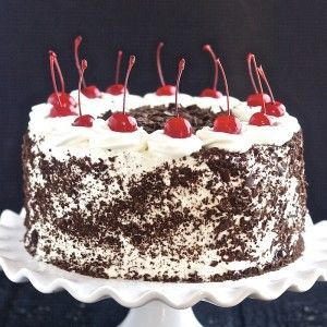 Black Forest Cake -   16 cake Black Forest german chocolate