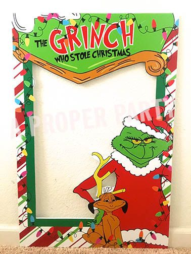 The Grinch Who Stole Christmas Grinch Party by aPROPerParty