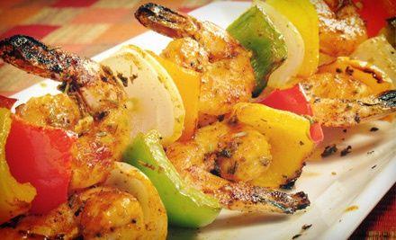 Torange Restaurant A Mediterranean Cuisine #jerkshrimp