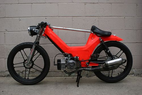 Cool Mopeds Custom Mopeds With Images Moped Moped
