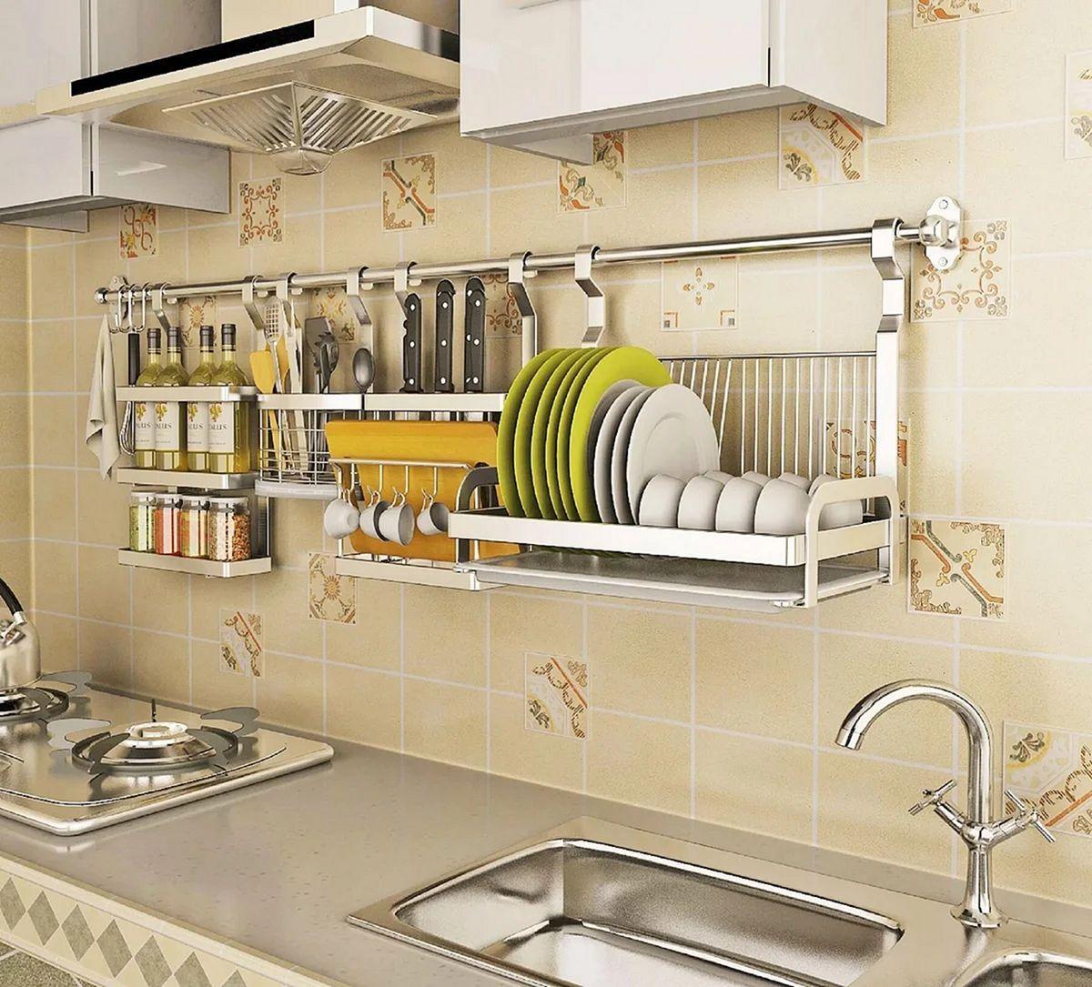 10 Wonderful Stainless Kitchen Rack