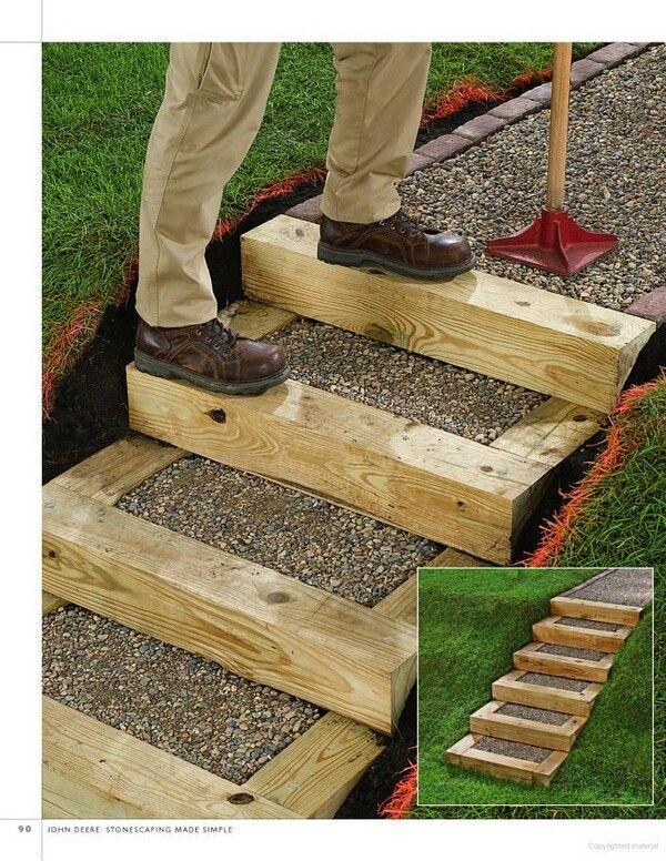 Love This Garden Stairs Backyard Landscaping Garden Steps