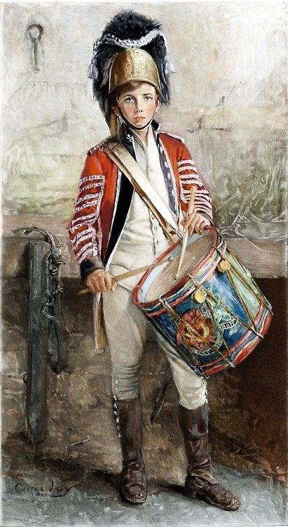 George William Joy - An English Drummer Boy (1902)