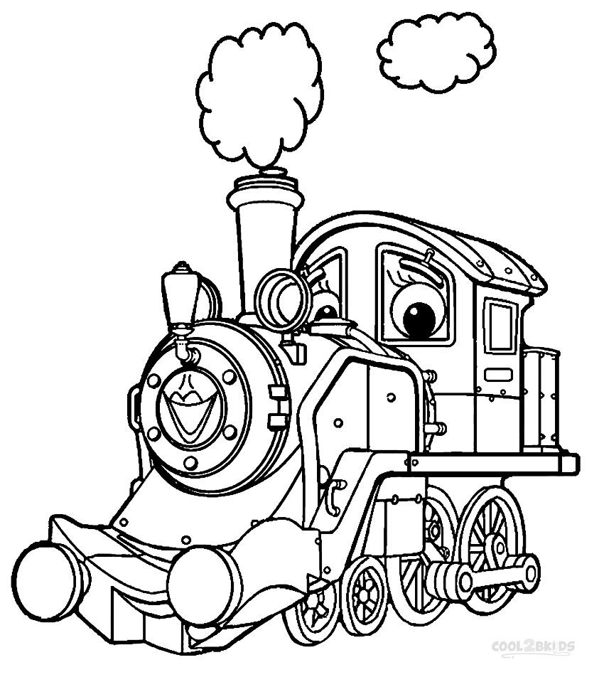 Printable Chuggington Coloring Pages For Kids Cool2bkids My