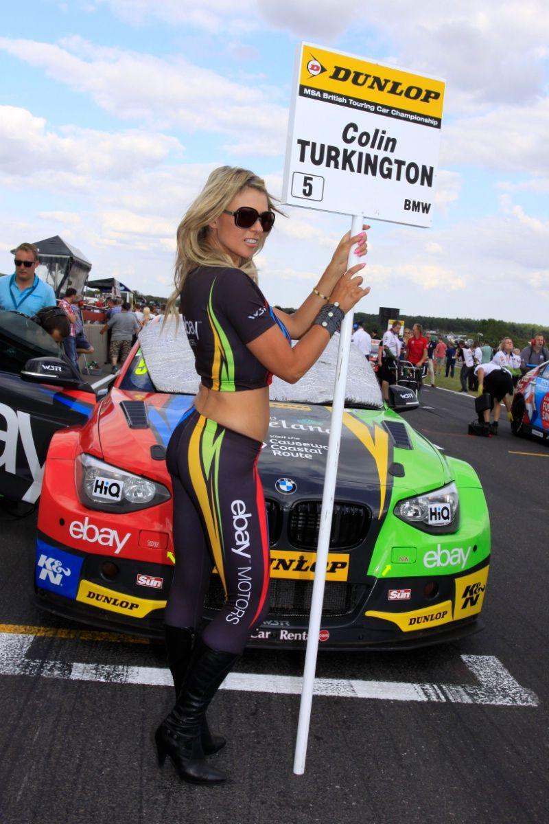 Colin Turkington (GBR) eBay Motors BMW 125i M Sport | Grid Girls ...