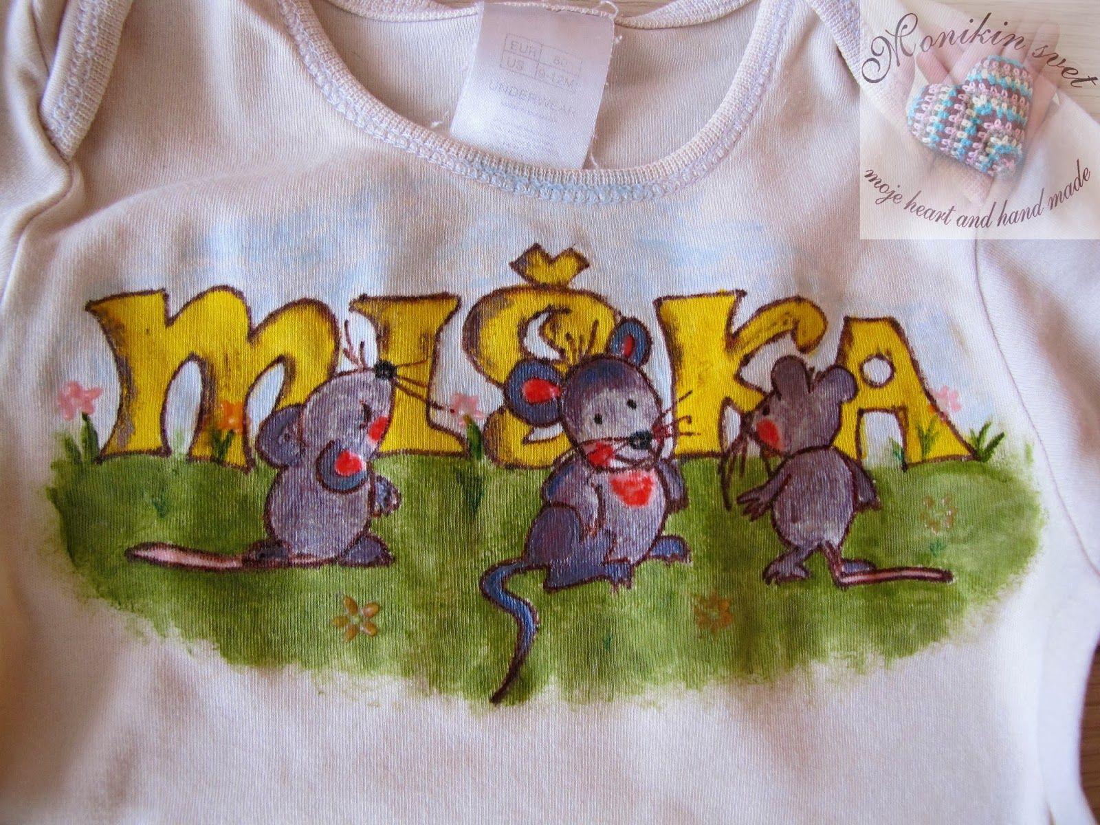 Monikin svet: Maľované body pre Mišku