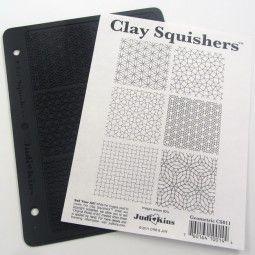 JudiKins géométriques Clay squisher