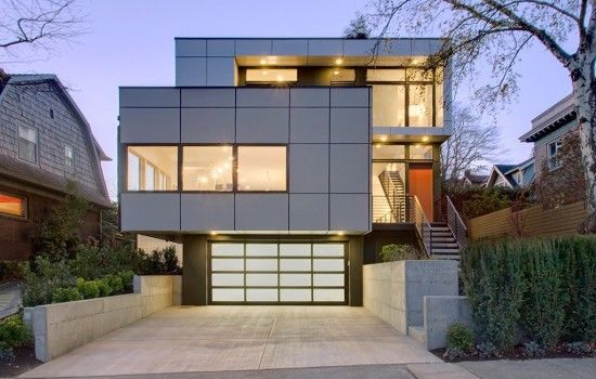 Contemporary Lofts modern loft homes exterior - google search | 3 story/2pk exteriors